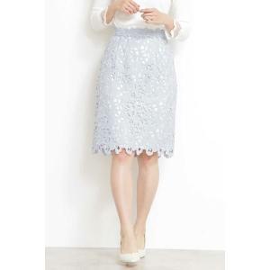 PROPORTION BODY DRESSING / プロポーションボディドレッシング  リボンケミカルレースタイトスカート selectsquare