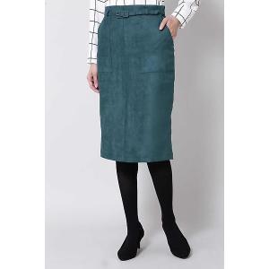 BOSCH / ボッシュ ポケット付きフェイクスエードタイトスカート