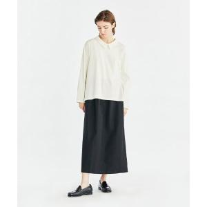 MARcourt / マーコート mizuiro ind 襟付きロングスリーブプルオーバー|タカシマヤファッションスクエア