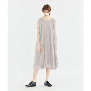 MARcourt / マーコート mizuiro ind ダブルヘムロングワンピース|タカシマヤファッションスクエア