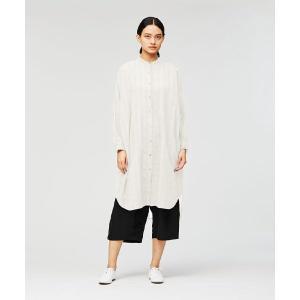 MARcourt / マーコート doddy stand collar long shirt OP|タカシマヤファッションスクエア