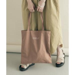 SMELLY / スメリー オリタタミロゴビッグエコバッグ タカシマヤファッションスクエア