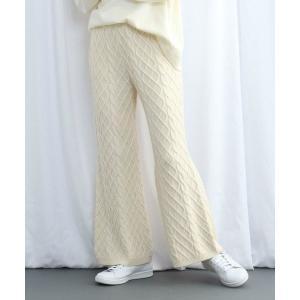 JET NEWYORK / ジェット ニューヨーク カシミヤ混ニットワイドパンツ タカシマヤファッションスクエア