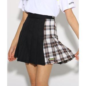 PINK-latte / ピンク ラテ ★ニコラ掲載★MIXチェック スカート|selectsquare