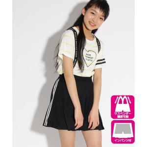PINK-latte / ピンク ラテ ★ニコラ掲載★ゴムサス付プリーツ スカート|selectsquare