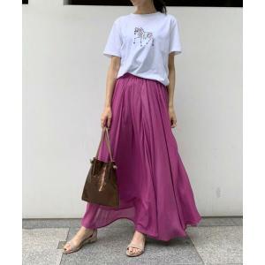 Droite lautreamont / ドロワットロートレアモン ワッシャーカラーロングスカート|タカシマヤファッションスクエア
