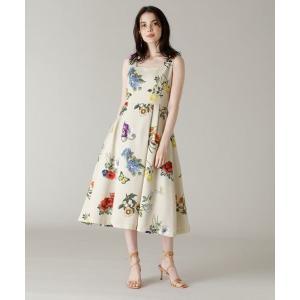 ef-de / エフデ 《M Maglie le cassetto》エンブロイダリープリントドレス|タカシマヤファッションスクエア