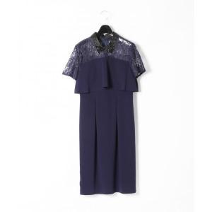 GRACE CONTINENTAL / グレースコンチネンタル オーガン刺繍衿ワンピース|selectsquare