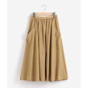 NIMES / ニーム コットン/ナイロン 後ろ釦スカート|タカシマヤファッションスクエア