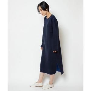 NIMES / ニーム ダブルフェイス配色ワンピース|タカシマヤファッションスクエア