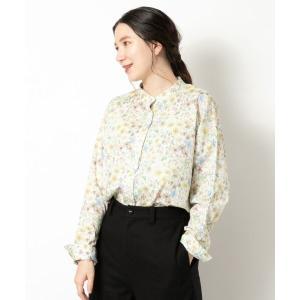 NIMES / ニーム LIBERTY PRINTスタンドカラーシャツ|タカシマヤファッションスクエア