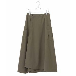 HIROKO BIS / ヒロコビス 雑誌掲載商品【洗濯機で洗える】ストレッチラップスカート|タカシマヤファッションスクエア