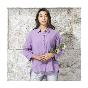 Liliane Burty / リリアンビューティ コットンクレープ ドルマンスリーブシャツ|タカシマヤファッションスクエア