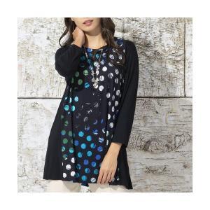 Liliane Burty / リリアンビューティ ドイツ製ドットプリント チュニックTシャツ|タカシマヤファッションスクエア