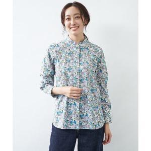 collex / コレックス 【LIBERTY /リバティ】Wスタンドカラーシャツ|タカシマヤファッションスクエア