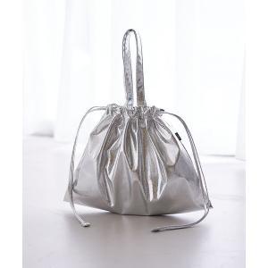 collex / コレックス 巾着メタリックバッグmini|タカシマヤファッションスクエア
