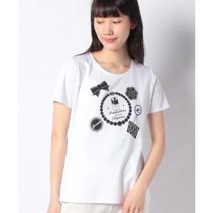 MADAM JOCONDE / マダムジョコンダ スーピマコットンポンチ プリントTシャツ|タカシマヤファッションスクエア