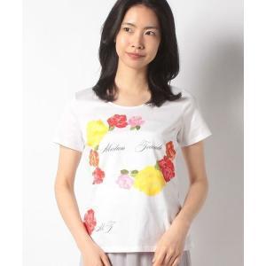 MADAM JOCONDE / マダムジョコンダ フラワーパネルプリント コットン天竺 Tシャツ|タカシマヤファッションスクエア