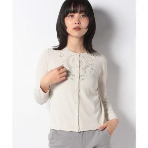 MADAM JOCONDE / マダムジョコンダ ANA カットワーク刺繍 ニットカーディガン|タカシマヤファッションスクエア