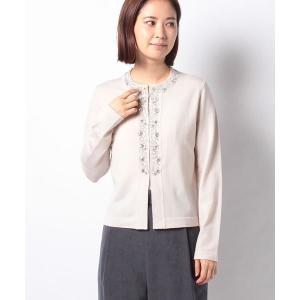 MADAM JOCONDE / マダムジョコンダ NADIA ビーズ刺繍 カーディガン|タカシマヤファッションスクエア