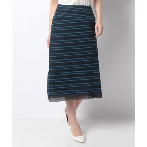 LAPINE BLANCHE / ラピーヌ ブランシュ 12G インレイ編みニットスカート|タカシマヤファッションスクエア