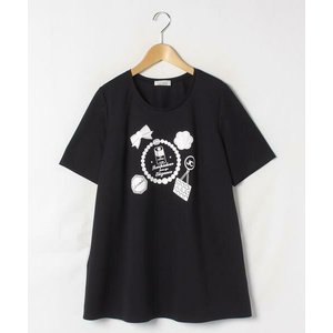 GUEST JOCONDE / ゲスト ジョコンダ スーピマコットンポンチ プリントTシャツ|タカシマヤファッションスクエア