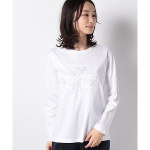 LA JOCONDE / ラ ジョコンダ スーピマスムース エンブロイダリーTシャツ|タカシマヤファッションスクエア