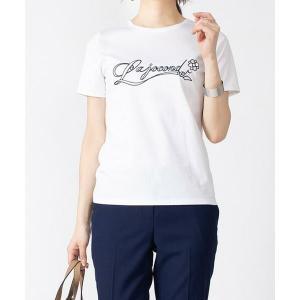 LA JOCONDE / ラ ジョコンダ スーピマスムースエンブロイダリーTシャツ|タカシマヤファッションスクエア