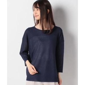 Leilian / レリアン 単色切替ニットプルオーバー タカシマヤファッションスクエア