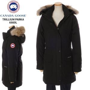 カナダグース CANADA GOOSE ダウン ジャケット コート ファー付 レディース トリリウム...