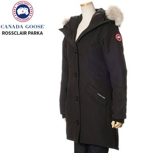 カナダグース CANADA GOOSE ダウンジャケット コート レディース ブラック ロスクレアパ...