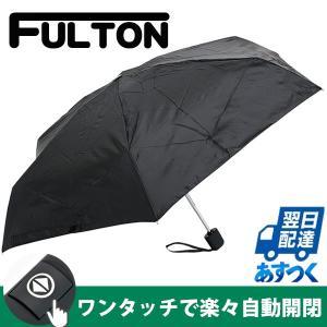 フルトン FULTON ワンタッチ自動開閉 傘 メンズ 雨傘...