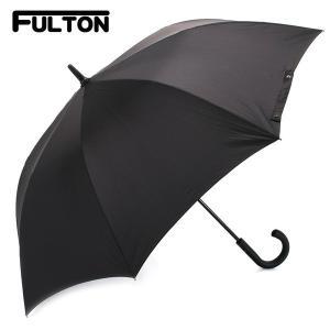 フルトン FULTON 傘 メンズ 雨傘 長傘 KNIGHTSBRIDGE-1 ブラック G828 5S001 BLACK|selene