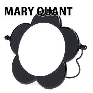 マリークワント MARY QUANT マリーズスタンドミラー メイクアップ 卓上ミラー 鏡 折り畳み デイジー ブラック|selene