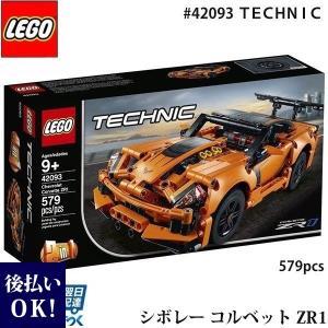 LEGO レゴ テクニック シボレー コルベット ZR1 # 42093 LEGO TECHNIC Chevrolet Corvette ZR1 579ピース selene