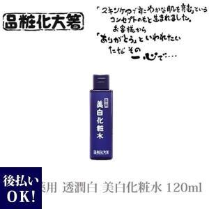 箸方化粧品 薬用 透潤白 美白化粧水 120ml はしかた化粧品 スキンケア UVカット|selene