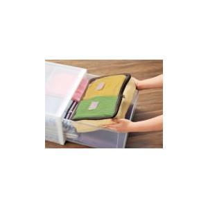 小さく畳める!収納ケース2点セット|self-shop