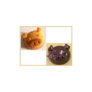 シリコン製チョコレートモールド。こぶた|self-shop