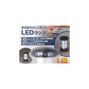 朝日電器 ELPA 6LEDコンパクトランタン DOP-L002|self-shop