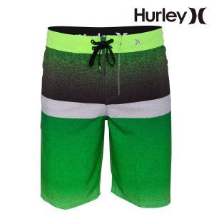 HURLEY,ハーレー/MENS,メンズ/2015年モデル/ボードショーツ,海水パンツ/PHANTOM BLOCKED FLIGHT BOARDSHORT・19inch/NGRN・ネオングリーン|selfishsurf