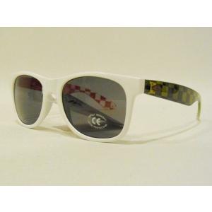 VANS,バンズ/海外限定モデル・2011年HOLIDAY/サングラス/SPICOLI 4 SHADES/California・ホワイトxグリーン&レッド selfishsurf