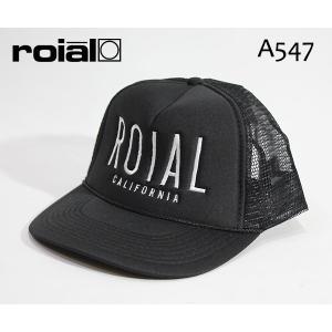 ROIAL,ロイアル/2017年SUMMERモデル/CAP,メッシュキャップ,OTTO/SPINACH・A547/BLACK・ブラック/フリーサイズ|selfishsurf