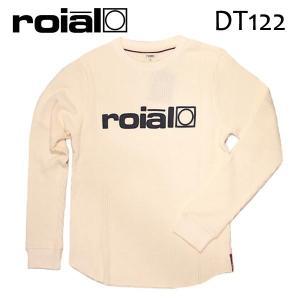 ROIAL・ロイアル/17FA/ L/S TEE,サーマル長袖Tシャツ/JOHN・DT122/WHITE・ホワイト/S・M・Lサイズ|selfishsurf