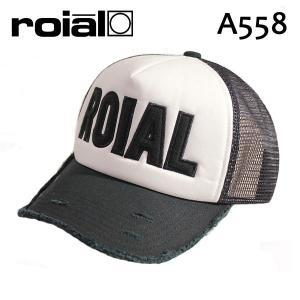 ROIAL,ロイアル/17FAモデル/CAP,メッシュキャップ/SUR・A558/WHITE×BLACK・ホワイト×ブラック/フリーサイズ|selfishsurf