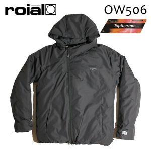 ROIAL・ロイアル/17FA/アウター・中綿ジャケット/SENER・OW506/ALL BLACK・ブラック/TOPTHERMO・トップサーモ/WATER REPELLENT/Mサイズ|selfishsurf
