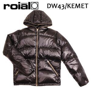 ROIAL・ロイアル/17FA/プレミアムダウンシリーズ・ダウンジャケット・アウター/DW43・KEMET/BLACK・ブラック/S・M・Lサイズ/メンズ|selfishsurf