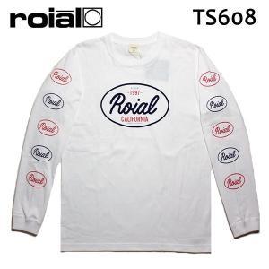 ROIAL・ロイアル/17HO/ L/S TEE,長袖Tシャツ/IKE・TS608/WHITE・ホワイト/S・Mサイズ|selfishsurf