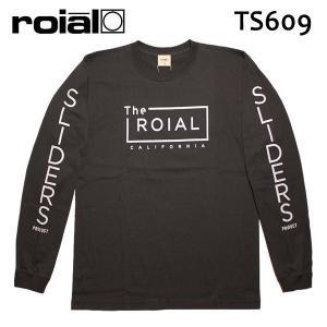 ROIAL・ロイアル/17HO/ L/S TEE,長袖Tシャツ/HUMBERTO・TS609/SUMI BLACK・スミブラック/M・Lサイズ|selfishsurf