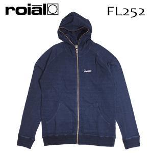 ROIAL・ロイアル/17HO/セットアップ上・ZIP PARKA・ジップパーカー/IVAN・FL252/DARK INDIGO・ダークインディゴ/Mサイズ/メンズ|selfishsurf