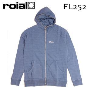 ROIAL・ロイアル/17HO/セットアップ上・ZIP PARKA・ジップパーカー/IVAN・FL252/LIGHT INDIGO・ライトインディゴ/Mサイズ/メンズ|selfishsurf